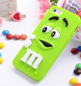 Силиконовые чехлы M&Ms iPhone 5/5s