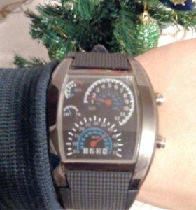 "Спортивные LED часы ""Спидометр"""