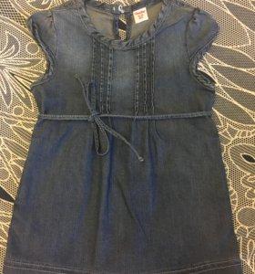 Новое платье 74-80 размер