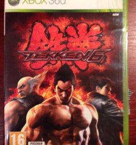 Диск Tekken6 xbox360