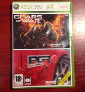 Диск gears of war/PGR4 xbox 360