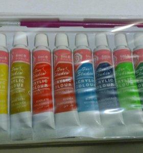 Новый Набор акриловых красок