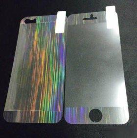 Защитная 3d пленка для iPhone 5/5s/SE полосы компл