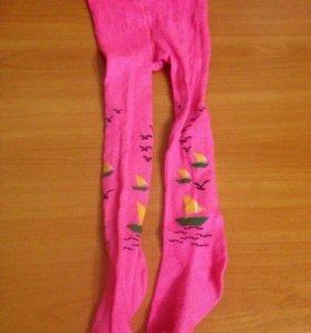 Новые-колготки и носочки на девочку