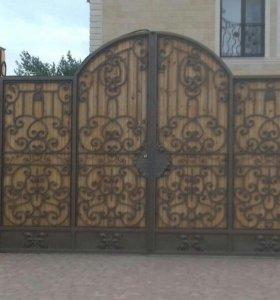 Ворота,заборы,навесы...