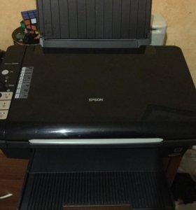 Принтер EPSON цветной