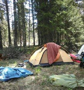 Палатка спальник пенка