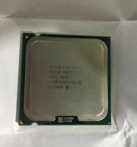 Продам Intel Core 2 Duo E8400 3.0 GHz + кулер