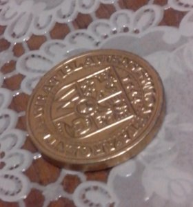 Шоколадная монета