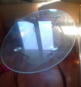 Стол стеклянный большой