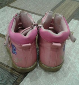 Ботинки детские (девочка) весна-осень