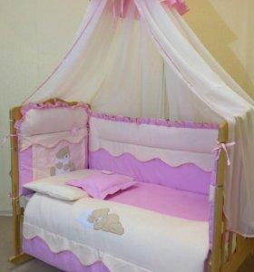 Постельное в кроватку