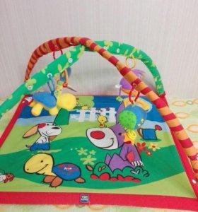 Развивающий коврик для малышей Tiny love