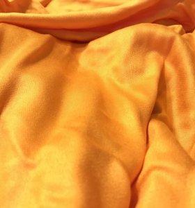 Однотонный палантин шарф