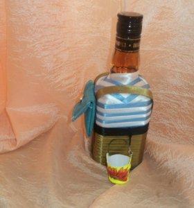 Оформление спиртного к праздникам и по профессиям