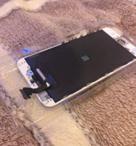 Дисплей LCD iPhone 6 с тачскрином (белый)