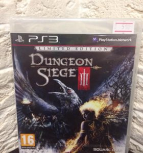 Dungeon Siege lll Limited Edition ps3