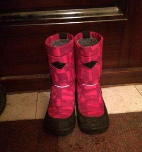 Зимние ботинки для девочки Kuoma