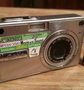 Pentax Optio S-5n фотоаппарат цифровой