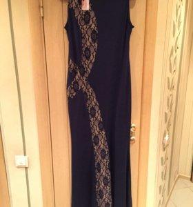 Платье в пол XXL