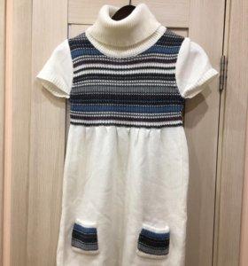 Платье для девочки длина 83см