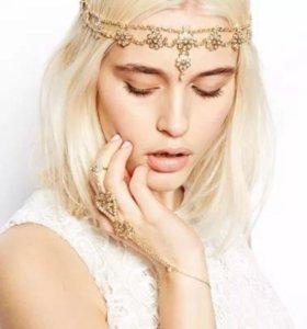 шикарное украшение на головуволосы повязка диадема