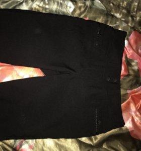 Лосины штаны обтягивающие утеплённые