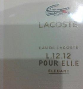 Женский парфюм lacoste l:12.12