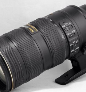 Объектив Nikon 70-200mm 1:2.8G