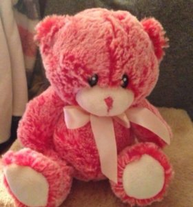 Медведь плюшевый