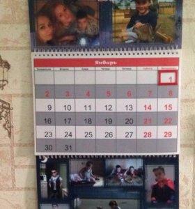 Изготавливаем календари