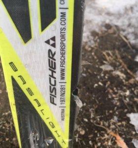 Лыжи беговые FISCHER SC Combi NIS новые