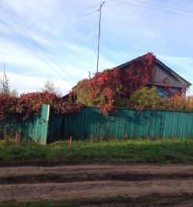 Участок  26.5 соток с домом  в Рязанской области