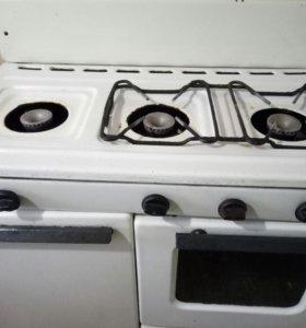 Газ с духовкой рабочий.