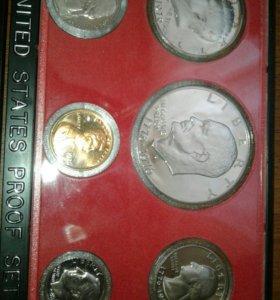 Набор монет с придентами
