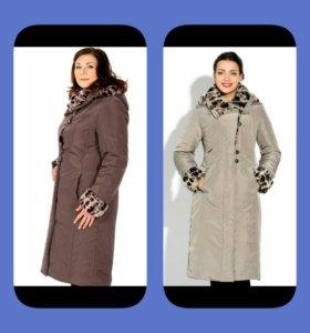 Новое пальто, размер 56/58
