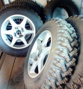 Зимние спортивные колёса на дисках