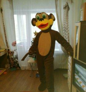 Ростовая кукла обезьянка новая,покупалась за 15000