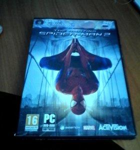 Новый человек паук 2 диск