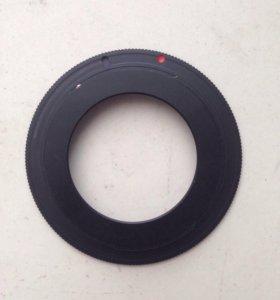 Переходное кольцо M42-EOS Canon для зеркалок
