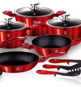 Набор посуды Berlinger Haus, 15 предметов, новые