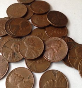1 цент США (1930-1958 гг.)