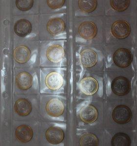 Биметалл по 40 руб за монету