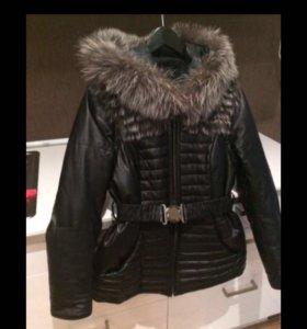 Куртка жилетка меховая.