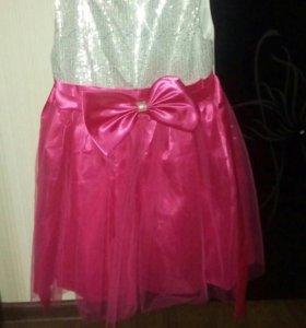 Платье растовка 140