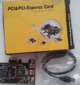 Pci-pci-express card новый
