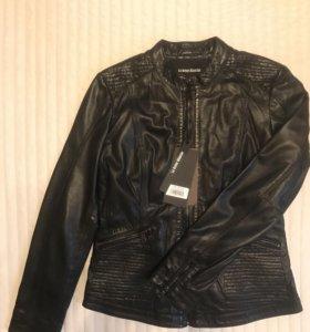 Куртка кожаная женская новая размер 48