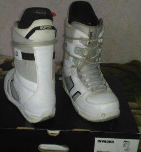 Ботинки для сноуборда Burton Invader мужские