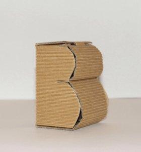 Коробочка в форме буквы В