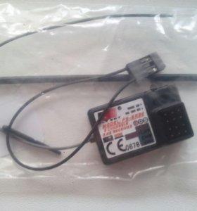 Трех канальный приемник для аппаратуры